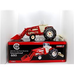 Case IH 460 tractor w/ blade 1:16 Has Box