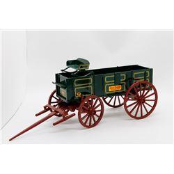 John Deere grain wagon