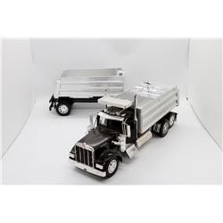 Kenworth truck w/ pup trailer No Box 22''