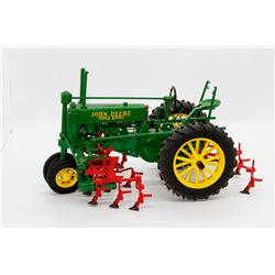 John Deere A tractor w/ mounted row crop cultivator No Box