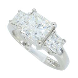 14KT White Gold 2.26ctw Diamond Ring