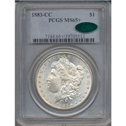 1883-CC $1 Morgan Silver Dollar Coin PCGS MS65+ CAC
