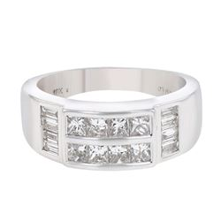 18KT White Gold 0.73ctw Diamond Ring