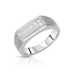 14KT White Gold 0.26ctw Diamond Ring