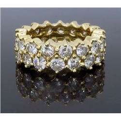 14KT Yellow Gold 4.50ctw Diamond Ring