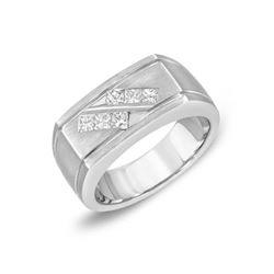 14KT White Gold 0.63ctw Diamond Ring