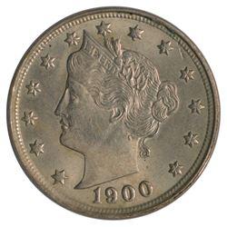 1900 Liberty Nickel Coin