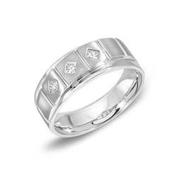 14KT White Gold 0.23ctw Diamond Ring