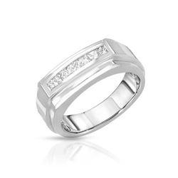 14KT White Gold 0.40ctw Diamond Ring