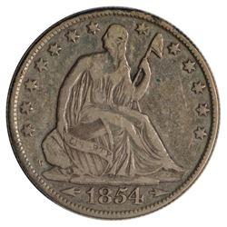 1854-O Seated Liberty Half Dollar Coin