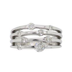 14KT White Gold 0.50ctw Diamond Ring
