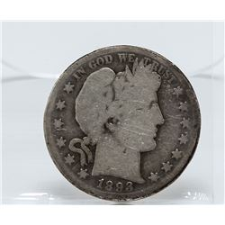 1893-S Barber Half Dollar Coin