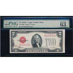 1928E $2 Legal Tender Note PMG 63