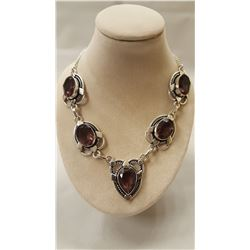 38.50ctw Alexandrite Necklace