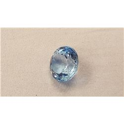 9.13ct Swiss Blue Topaz Gemstone