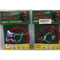 DOG LEADS NEW IN PACK
