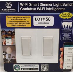 CE SMART HOME WI-FI SMART DIMMER LIGHT SWITCH
