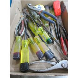 Bundle of Westward Screwdrivers / Pliers and more
