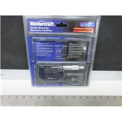 "New Mastercraft Outside Micrometer / 1-2"" range"