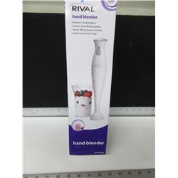 New Hand Blender / 150 watt motor / stainless blade 500ml beaker