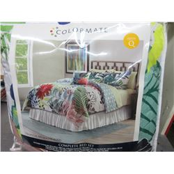QUEEN 8 piece complete bed set