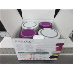 New Sure Lock portionwise Food Storage set / 36 pieces