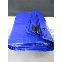 Heavy Duty 12 x 16ft Tarp / heavy fabric weight / tight weave for superior strength