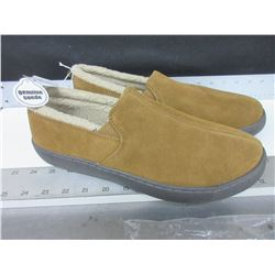 Men's Mosimmo Genuine Suede Slippers size 11 non marking sole