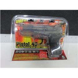 New .45 Cal AIR SOFT Pistol / 200fps spring powered / large 70bb Magazine