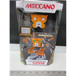 New Meccano Engineering & Robotics / Micronoid Code program from your