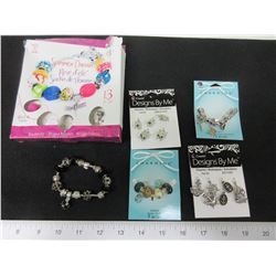 Bundle of New Charms and Bracelets
