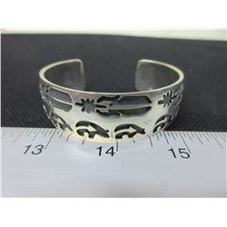 Solid Sterling Silver West Coast Bracelet