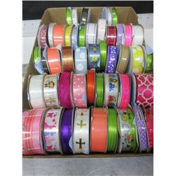 Flat full of New Ribbon / Assorted