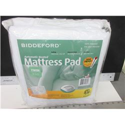 New Twin Automatic Heated Mattress Pad / auto shut off / machine wash
