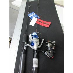 2 New Ice Fishing Rods and Reals / Shakspear & Ugly Stick / NOTE: one