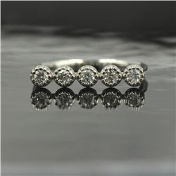 0.29 ctw Diamond Ring - 14KT White Gold