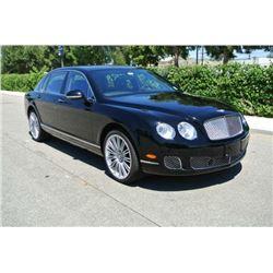 2012 Black Bentley Continental Flying Spur