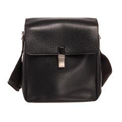 Louis Vuitton Black Taiga Leather Yaranga Bag