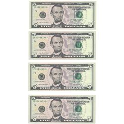 (10) Consecutive 2006 $5 FRN Star Notes CHCU