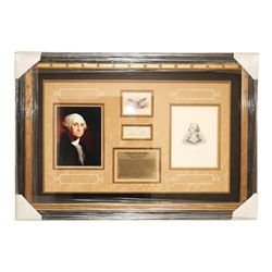 President George Washington Autographed Collage