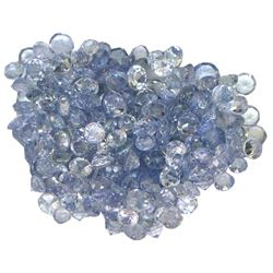 14.77 ctw Round Mixed Tanzanite Parcel