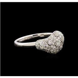 0.52 ctw Diamond Ring - 14KT White Gold