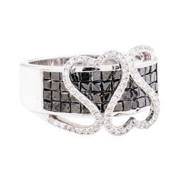 2.02 ctw Diamond Ring - 14KT White Gold