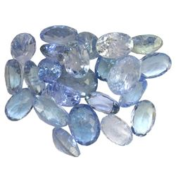 12.86 ctw Oval Mixed Tanzanite Parcel