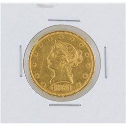 1851 $10 Liberty Head Eagle Gold Coin