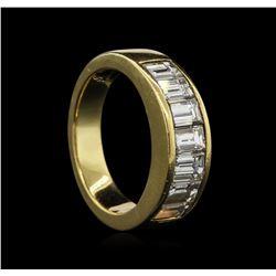 1.68 ctw Diamond Ring - 18KT Yellow Gold