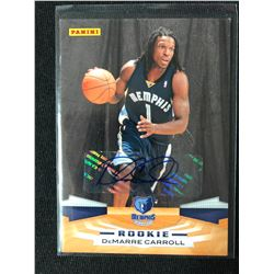 2009-10 Panini #327 DeMarre Carroll Memphis Grizzlies RC Rookie Basketball Card