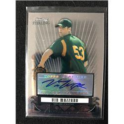 2008 Bowman Sterling Prospects Refractor #BSP-VM Vin Mazzaro Auto Baseball Card
