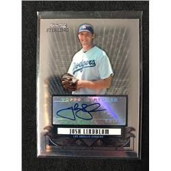 2008 Bowman Sterling Prospects #JLI Josh Lindblom Auto