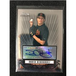 2008 Bowman Sterling Prospects #DH David Hernandez Auto